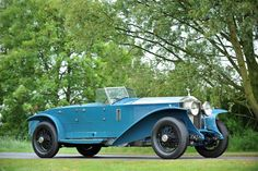 Rolls-Royce Phantom I Experimental Torpedo (1928) by British coachbuilding company Jarvis & Sons. coachbuild.com