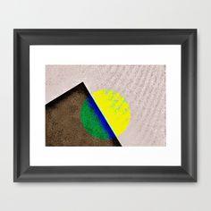 Peak Framed Art Print by Jensen Merrell Designs - $32.00