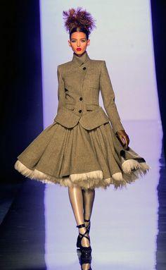 Jean Paul Gaultier - París - Alta Costura Otoño Invierno 2011-2012