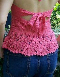 How to Crochet a Halter Dress   eHow.com