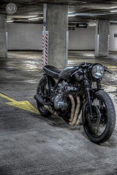 handmademotorcycle: Suzuki GS 750 Cafe Racer von Robinsons's Speed Shop