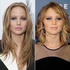 Jennifer Lawrence Lob Haircut