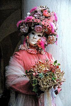 Carneval in Venice, Italy.  Photo by Per Lidvall  www.AspectusForma.com