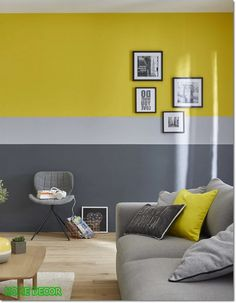 Wall Colors 2020 – What is the most popular color for interior walls? - Home Decor Interior Wall Colors, Room Wall Colors, Interior Walls, Interior Design, Living Room Paint, Living Room Decor, Bedroom Decor, Bedroom Wall Designs, Living Room Designs