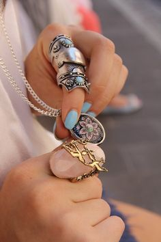 Gorgeous rings for fashion girls #ring www.loveitsomuch.com