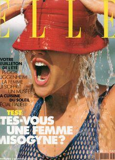 French ELLE Cover Judith Masco