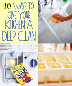 37 Ways To Give Your Kitchen A Deep Clean | Health & Natural Living