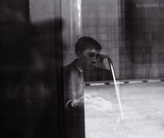 The portrait of young man by Vladimir Kuleshov