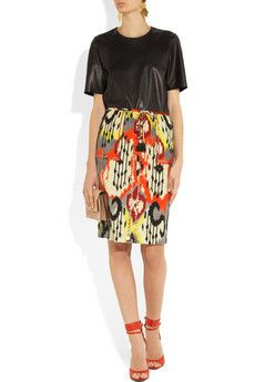 Tiger Ikat-print silk pencil skirt | Altuzarra | THE OUTNET, How would you accessorize this? http://keep.com/tiger-ikat-print-silk-pencil-skirt-altuzarra-the-outnet-by-loribergs/k/08FmOygBGE/