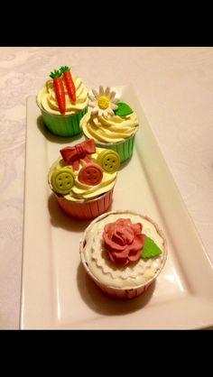 Carrot cupcakes:-)