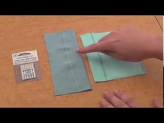 Learn what needle, what presser foot, and what stitch to use when sewing with knit fabrics.
