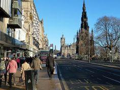 Princes Street, Edinburgh by Mary and Angus Hogg