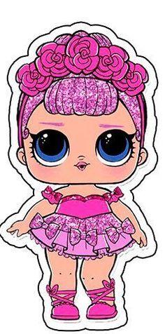 Tube Applique Lol Überraschung (Party Dekoration) - How To - l.l - - Bilder - Lol Surprise 6th Birthday Parties, Girl Birthday, Free Birthday, Surprise Birthday, Decoration Communion, Lol Doll Cake, Doll Party, Lol Dolls, Baby Dolls