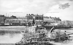 Seahouses, The Harbour c.1955. #thefrancisfrithcollection #francisfrith #harbours #nostalgia