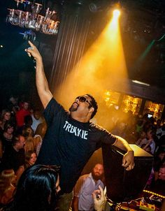 Fatman Scoop hosted at Body English Nightclub at Hard Rock Hotel & Casino in Las Vegas on July 19, 2014 (Photo: © Patrick Gray /Retna /www.erikkabik.com).