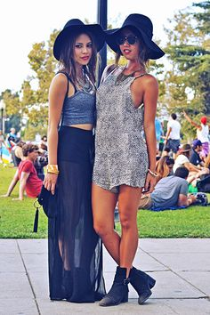 12 Awesome Street-Style Snaps from FYF Fest That'll Hold You Over Until Next Season