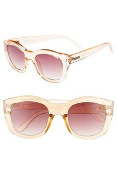 Le Specs 'Runaways' Cat Eye Sunglasses available at #Nordstrom