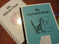 Free Printable Alphabet Book Pages | Free Homeschool Deals ©