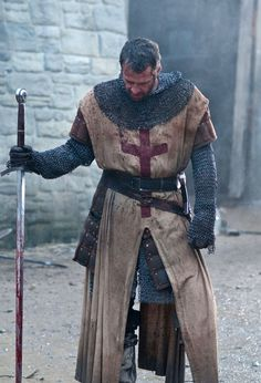 "Knights Templar:  Actor James Purefoy as Marshal, a #Knight #Templar, in the movie ""Ironclad"" (2011)."