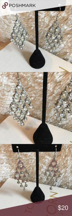 Silver Chandelier Earrings NWOT Chandelier Earrings Silver Tone Jewelry Earrings