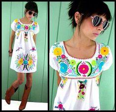 Modern mexican dress / moderno vestido mexicano