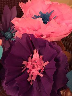 Giant Crepe Paper Flower