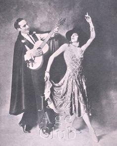 Fowler and Tamara - Jazz Age Club Spanish Dance, Ballroom Dancing, Jazz Age, Cabaret, Orchestra, America, Club, Statue, London