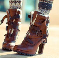30 Ideas De Zapatos Invierno 2015 Zapatos Invierno Calzas