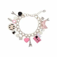 For the Love of Paris Charm Bracelet | Claire's - $9.50 from Claires