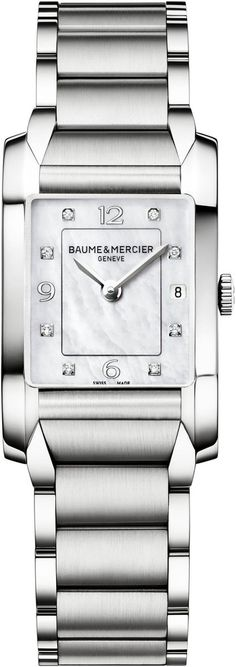 Baume et Mercier Watch Hampton #add-content #bezel-fixed #bracelet-strap-steel #brand-baume-et-mercier #case-depth-9mm #case-material-steel #case-width-34-5-x-22mm #date-yes #delivery-timescale-call-us #dial-colour-white #gender-ladies #luxury #movement-quartz-battery #official-stockist-for-baume-et-mercier-watches #packaging-baume-et-mercier-watch-packaging #style-dress #subcat-hampton #supplier-model-no-m0a10050 #warranty-baume-et-mercier-official-2-year-guarantee #water-resistant-50m