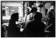 Henri Cartier-Bresson - Paris. 1952. Cafe.