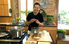 """Holiday Maca Eggless Nog, from Raw for the Holidays 