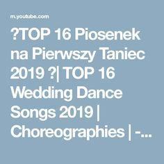 🎶TOP 16 Piosenek na Pierwszy Taniec 2019 🎶| TOP 16 Wedding Dance Songs 2019 | Choreographies | - YouTube Tim Bergling, Wedding Dance Songs, Night Swimming, Norah Jones, Sky Full Of Stars, Concord Music, Florence The Machines, Disney Music, A Star Is Born