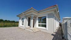 Casa pe parter in Corbeanca | CoArtCo House Foundation, Design Case, Architect Design, Home Fashion, House Plans, Mansions, House Styles, Outdoor Decor, Home Decor