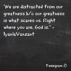 Quote from Iyanla Vanzant during the Lifeclass show on Monday, March 26th