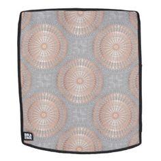 #trendy - #Rose Gold Gray Mandala Pattern Backpack