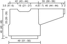 DROPS 44-12 - DROPS pusero Vienna-langasta - Free pattern by DROPS Design