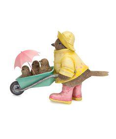 Look at this #zulilyfind! Rainy Day Bird Figurine #zulilyfinds