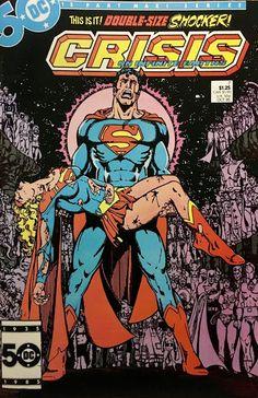 Chris is on Infinite Earths: Crisis on Infinite Earths #7 (1985)