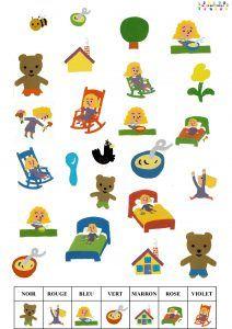 Boucle d'or et les 3 ours : cherche et trouve – MC en maternelle Petite Section, 3 Bears, 3 D, Fairy Tales, Snoopy, Beer, Kids Rugs, Activities, Math