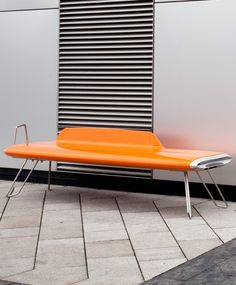 The innovative #bench ICON by Vestre wins the Red Dot Design Award #design #colour