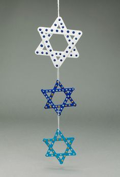 Chanukah is one of the most beloved Jewish holidays. Decorate for this 8-day festival of lights with a beautiful wallhanging.