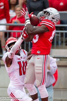Once Ohio State started scoring, they didn't stop as they downed Rutgers 58-0 in Ohio Stadium Saturday afternoon. Terry McLaurin scores his first receiving TD as a Buckeye. Jim Davidson photo - Ozone