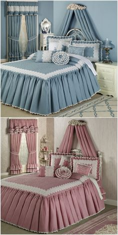 Small facility for small budgets schlafzimmer bett Girls Bedroom, Master Bedroom, Bedroom Decor, Bed Cover Design, Curtain Designs, Bed Covers, Soft Furnishings, Bed Spreads, Bed Sheets