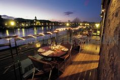 the mustard seed | inverness, scotland. Great contemporary cuisine overlooking the river.