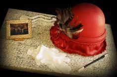 Downton Abbey Themed Birthday Cake.