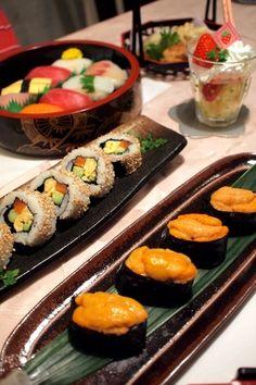 絶品!うにの軍艦巻き等お寿司で誕生日前祝い♪ by shoko♪さん ...
