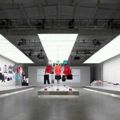 Showroom Nike Pop Up, em Beijing, China. Projeto de Maggie Peng & Albert Tien. #moda #atitude #fashion #fashionattitude #lojaconceito #conceptstore #flagship #flagshipstore #storedesign #showroom #interior #interiores #artes #arts #art #arte #decor #decoração #architecturelover #architecture #arquitetura #design #projetocompartilhar #davidguerra #shareproject #nike #beijing #china #maggiepeng #alberttien
