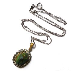Vintage Art Deco Egyptian Revival Real Scarab by ClariceJewellery