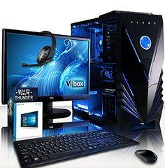 #Sale VIBOX Marvel #Komplett #PC #Paket 12 #Gaming #PC   4 #GHz #Intel i7 #Quad #Core CPU  #GT 7...  Tagespreisabfrage /VIBOX Marvel Komplett-PC #Paket 12 #Gaming #PC  4,0GHz #Intel i7 Quad-Core CPU, #GT 710 GPU, preiswerte, #Desktop #Gamer #Computer #mit Spielgutschein, 22″ Monitor, Tastatur & Mouse #Set (DE QWERTZ), Windows 10, #Blau Innenbeleuchtung, lebenslange Garantie* (3,4GHz (4,0GHz Turbo) #Intel i7 6700 #Quad 4-Core Skylake Prozessor CPU, Nvidia GeForce http://saar